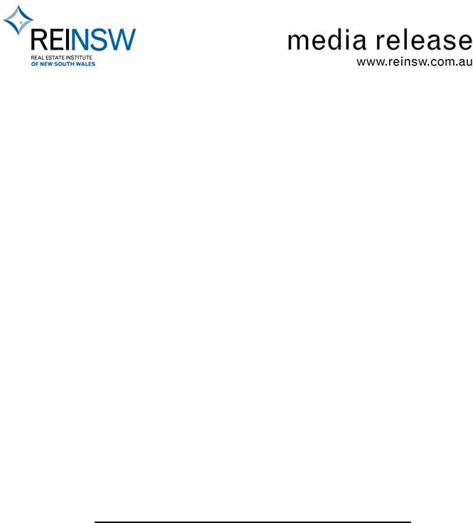 Reinsw Welcomes Interest Rate Cut And Calls On Lenders To Follow Suit